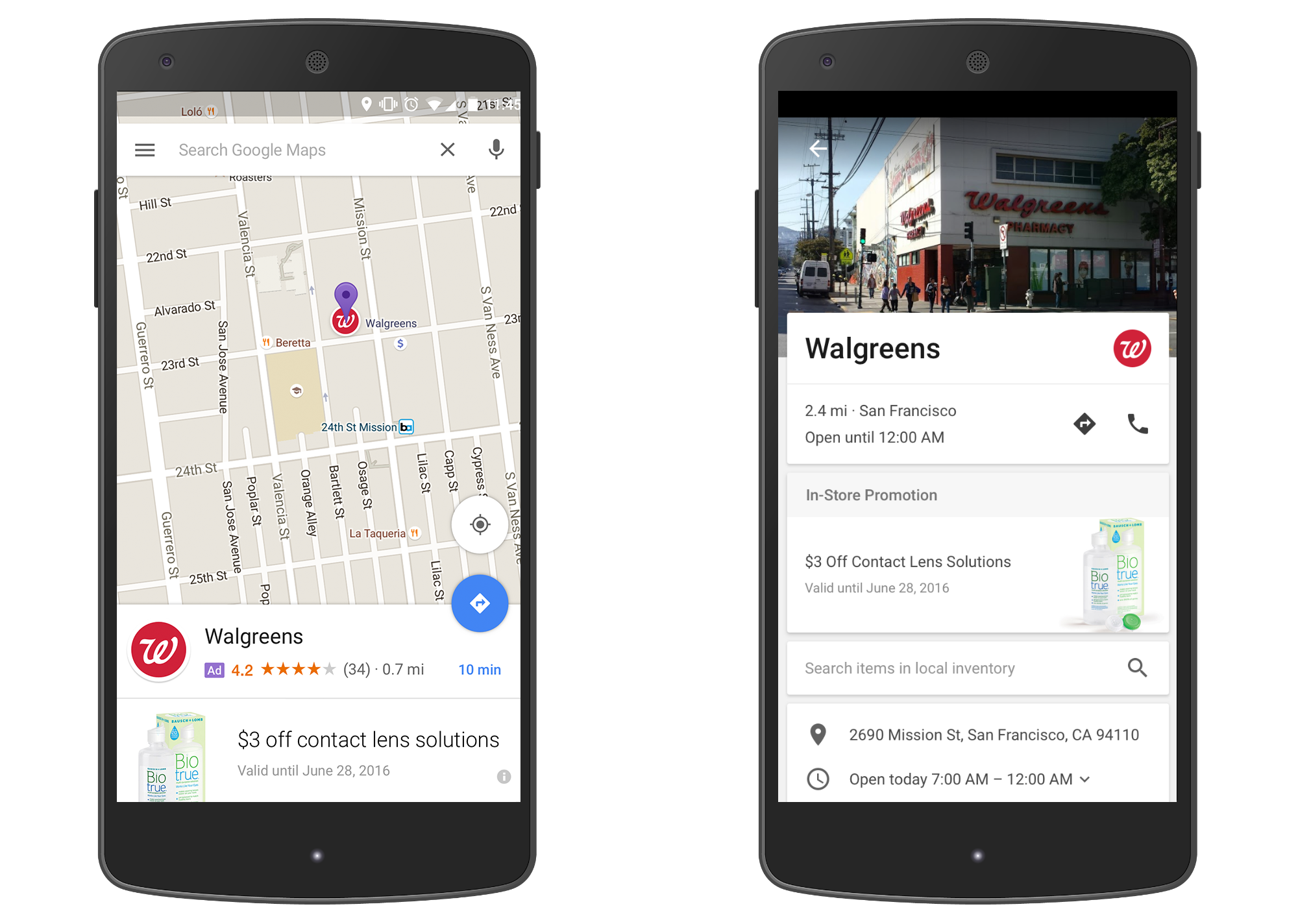 New Google Maps ads will drop nded pins in your search ... on red book advertising, 7 eleven advertising, sony advertising, bulk email advertising, instagram advertising, streeteasy advertising, avaya advertising, technicolor advertising, sea monkey advertising, blu advertising, wechat advertising, quickbooks advertising, holiday marketing advertising, coca-cola advertising, parts store advertising, fb advertising, surface pro advertising, ebook advertising,